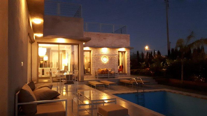 Villa moderne avec jardin et piscine Essaouira, location de vacances à Essaouira