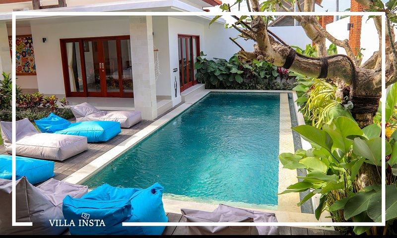 ♥ Villa Insta ♥ Luxurious, new, modern & spacious in the heart of Canggu, casa vacanza a Pererenan
