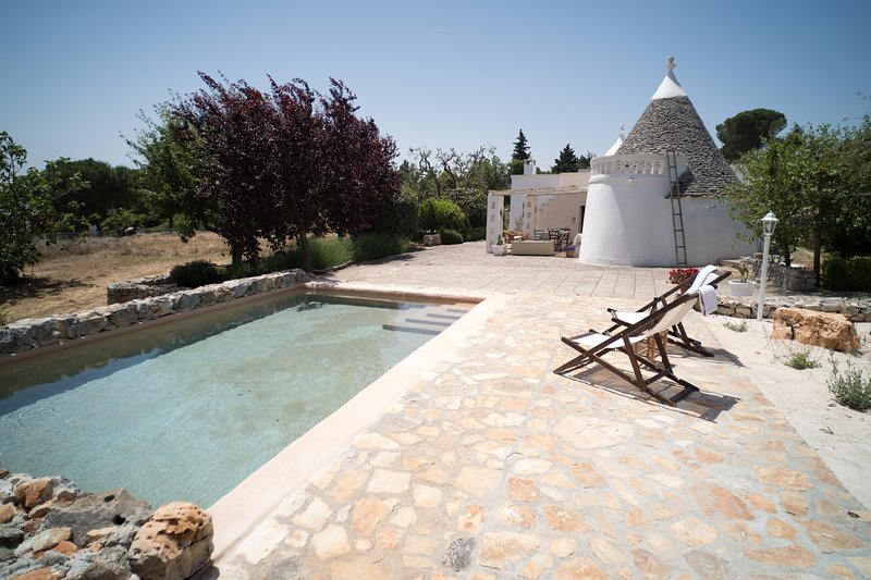 Trulli di charme by Typney, holiday rental in Selva