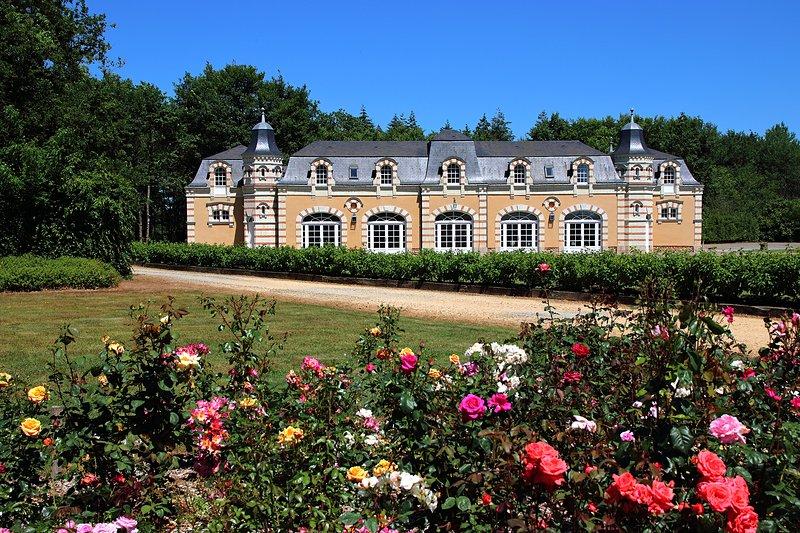 Un séjour d'exception au cœur de l'Anjou dans une demeure de charme, holiday rental in Jarze