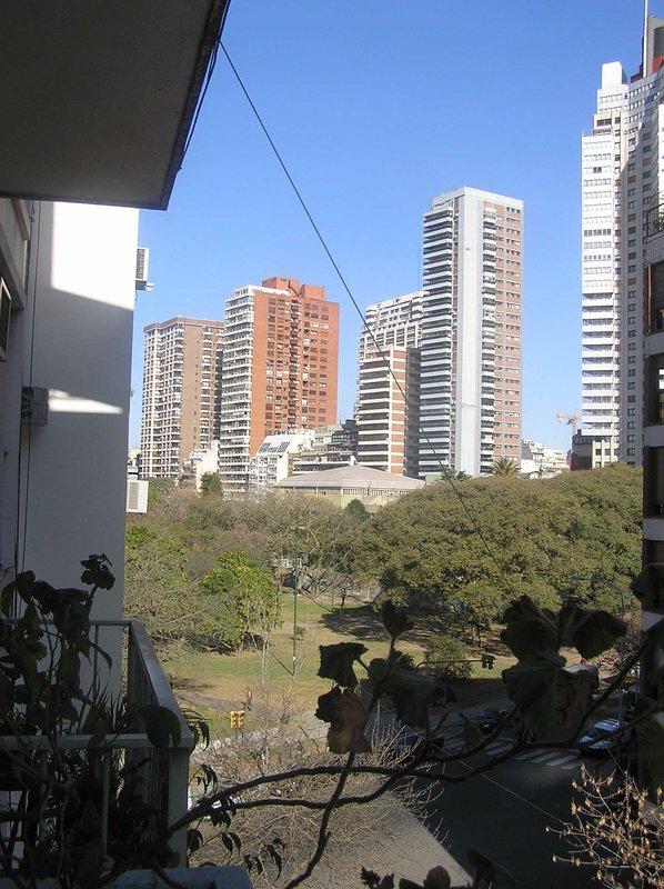 Views to Las Heras park.