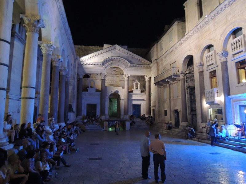 Split, palace of the Emperor Diocletian