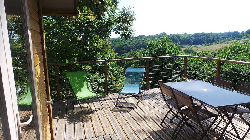 roulotte lasko, holiday rental in Le Grand-Madieu