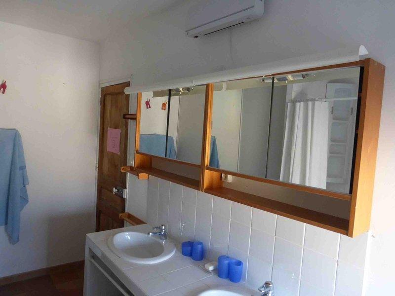 Shower room floor