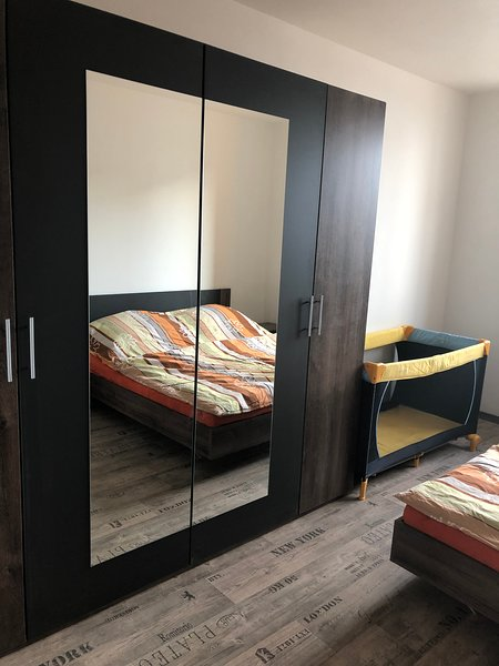 MODERN CALM FLAT WITH A BALCONY and nice Surprise, holiday rental in Hlavatce