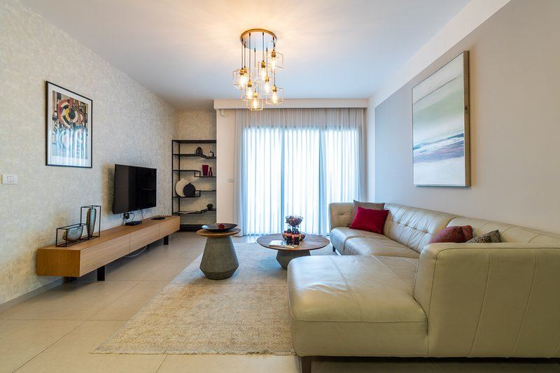 Amazing 3 bedrooms/parking, city center Jerusalem – semesterbostad i Beersheba
