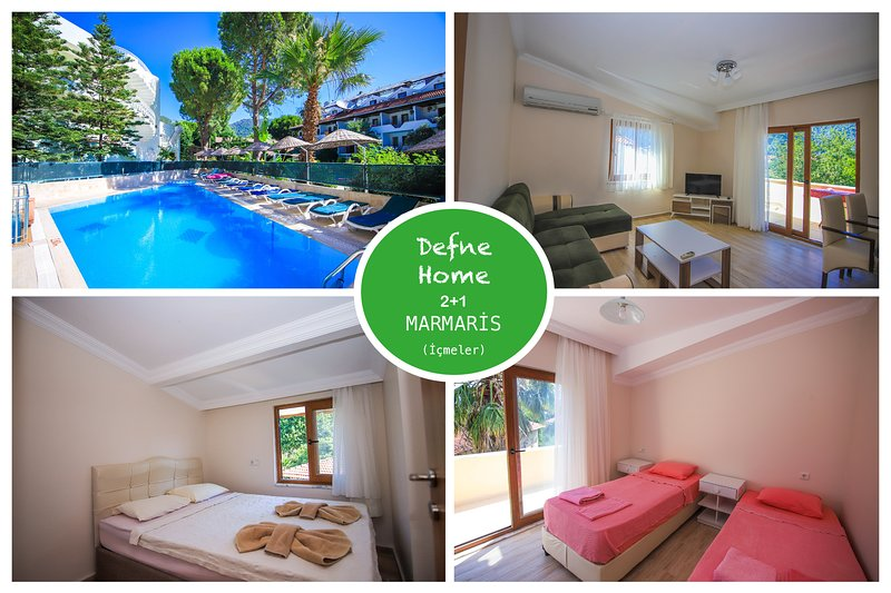Defne Home İçmeler Daily Weekly Rentals, holiday rental in Marmaris