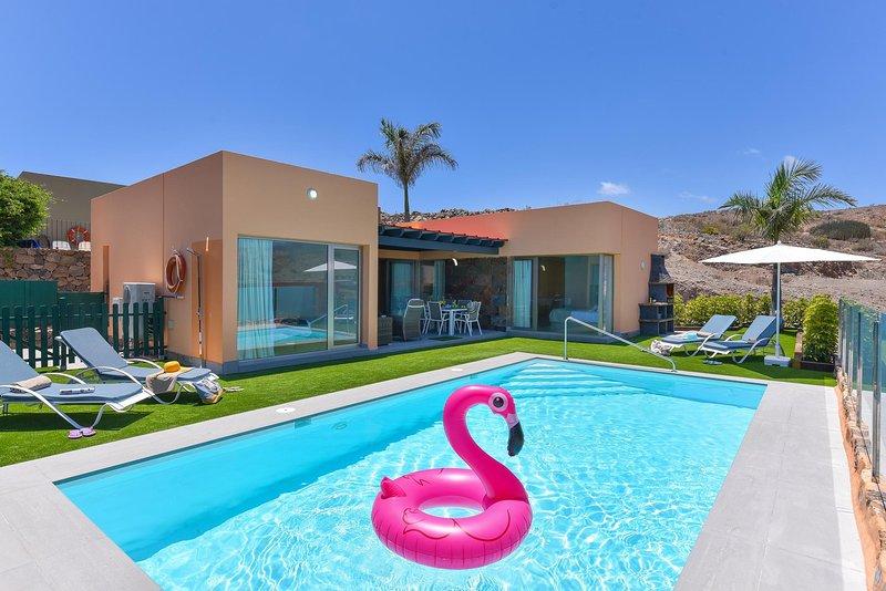 Par 4 Villa 13 Salobre Gran Canaria, location de vacances à Montana La Data