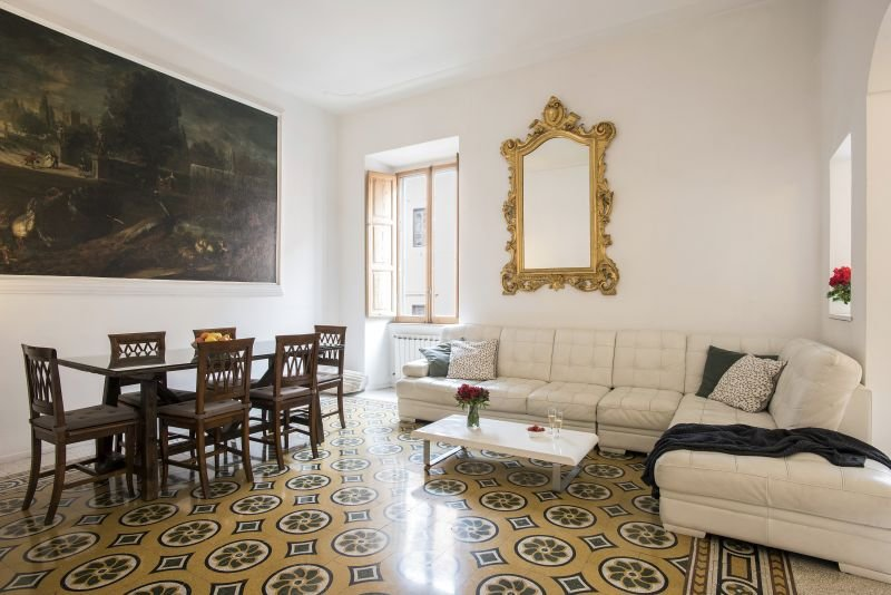 First apartment - Livingroom