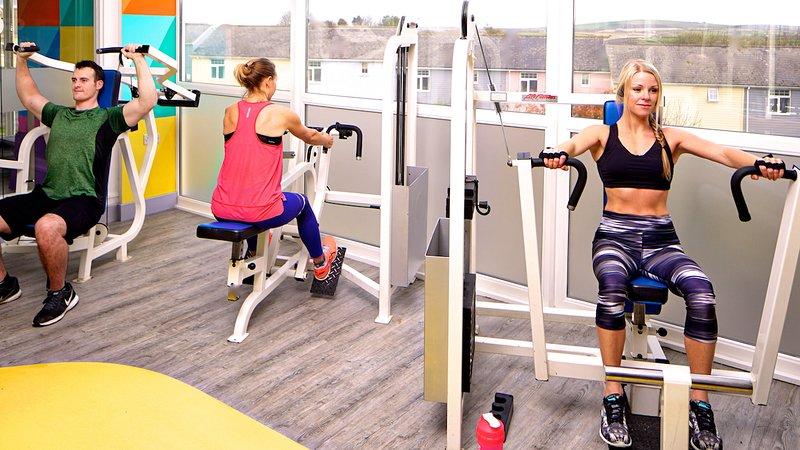 Centro fitness presso Atlantic Reach Resort