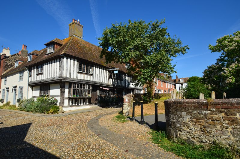 Historic Rye only a 10 minute drive from the holiday cottage.