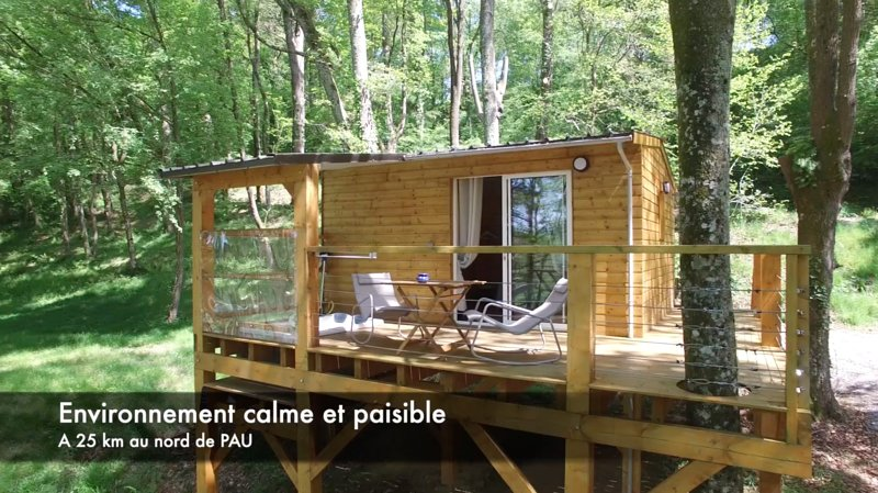 Cabane du lac, vacation rental in Theze