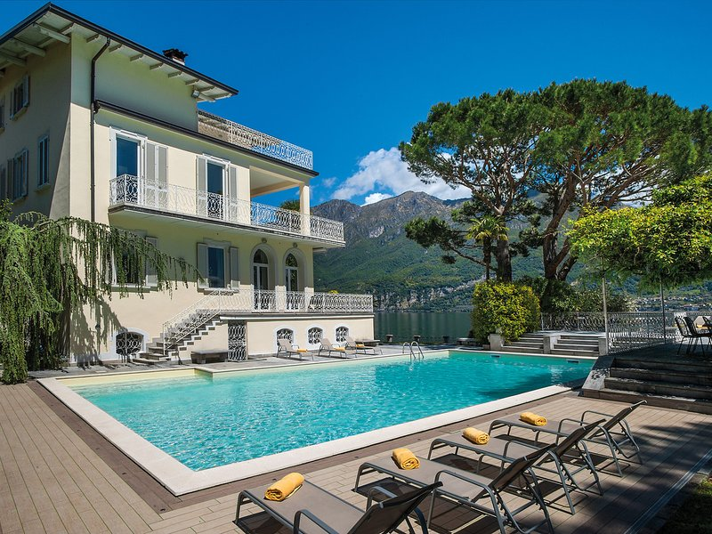 Oliveto Lario Villa Sleeps 14 with Pool Air Con and WiFi - 5248329, holiday rental in Onno