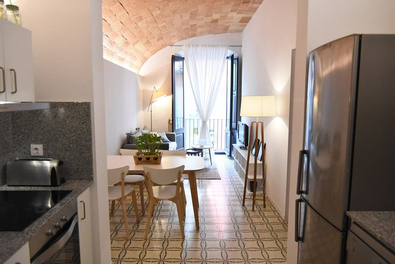 Beautiful apt in Banyoles & Wifi – semesterbostad i Porqueres