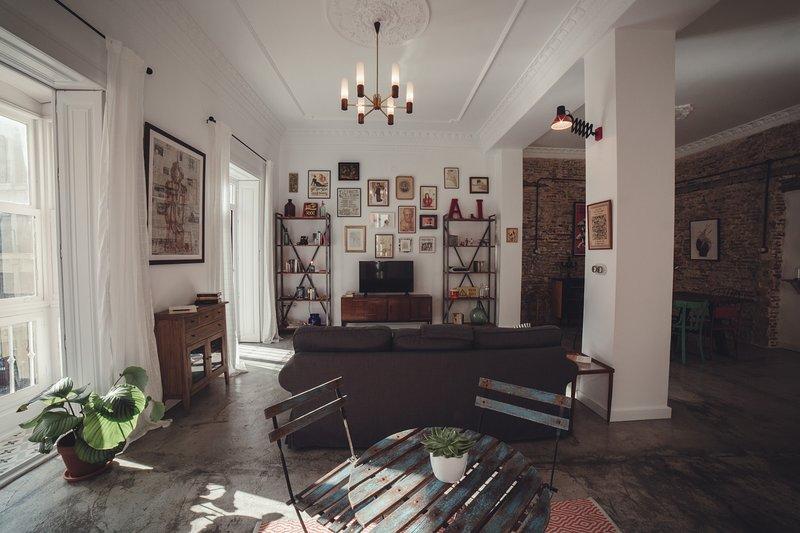 La casa del Cañón: Apartamento exclusivo en el centro histórico de Cartagena, holiday rental in Galifa