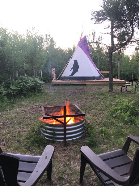 Bear Tipi, holiday rental in Manitoba