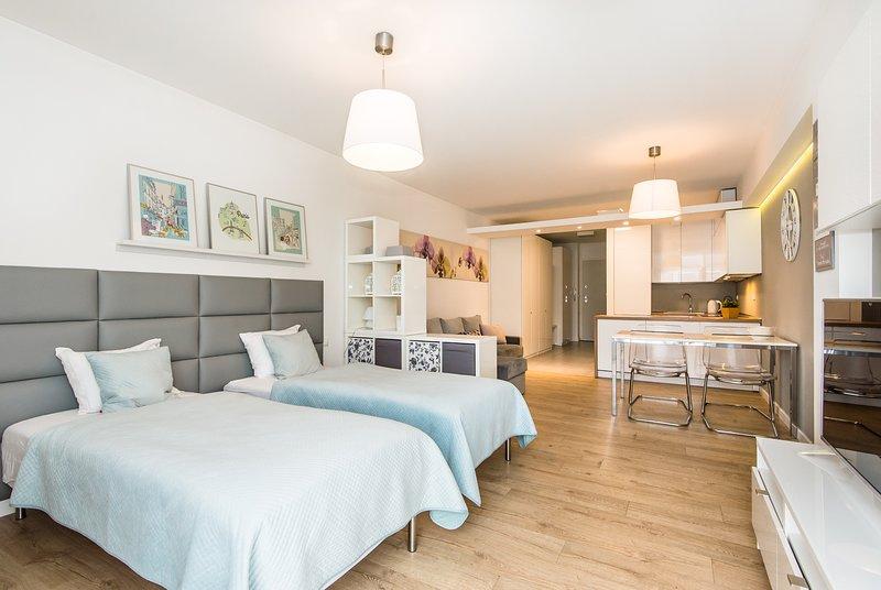 Super-Apartamenty Love Deluxe, holiday rental in Oborniki