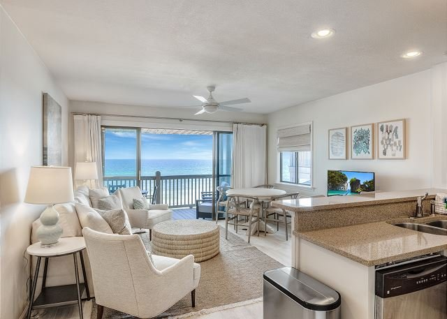 Seamist Gulf Front Condo - Professionally Designed Remodel in Summer 2019!!, holiday rental in Seacrest Beach