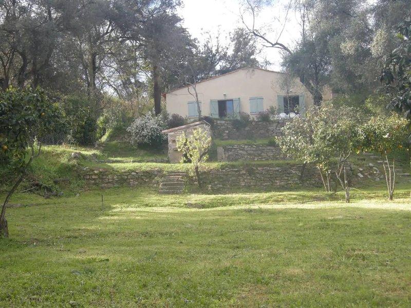 Amazing house in Ajaccio, vacation rental in Mezzavia