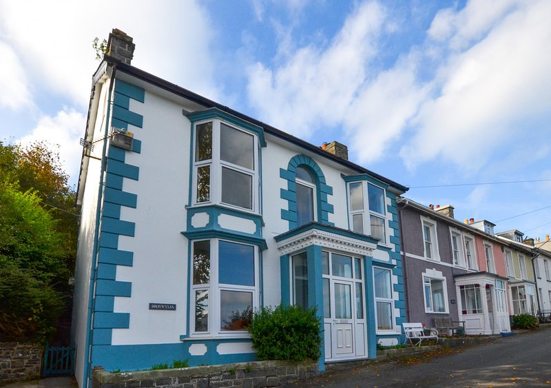 Bronwylfa, vacation rental in New Quay