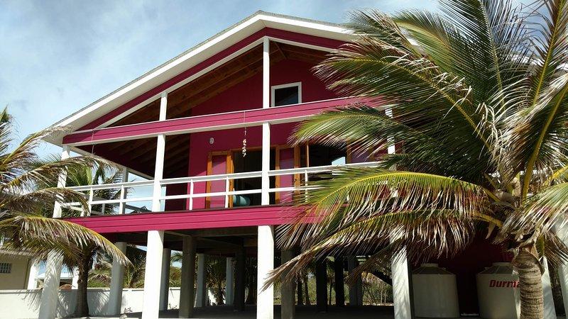 Utila's Waterfront Hibiscus House!