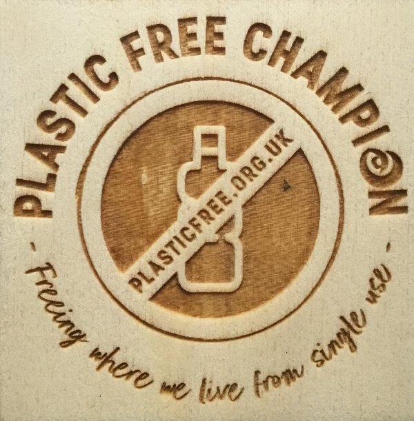 We are delighted to be a Plastic Free Champion for Whitstable. We're working hard to reduce further