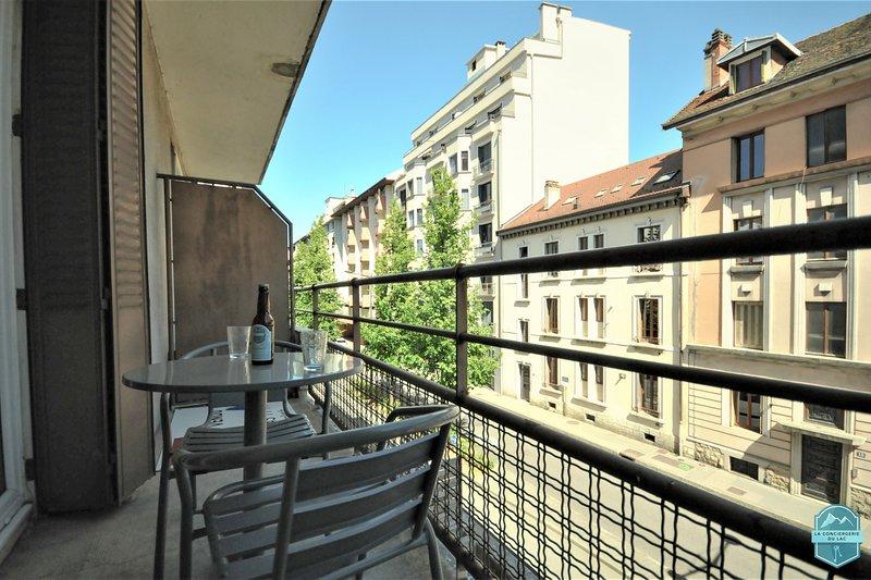 � L'Aléry - Studio 32 m2 plein centre entièrement rénové avec balcon, holiday rental in Cran-Gevrier