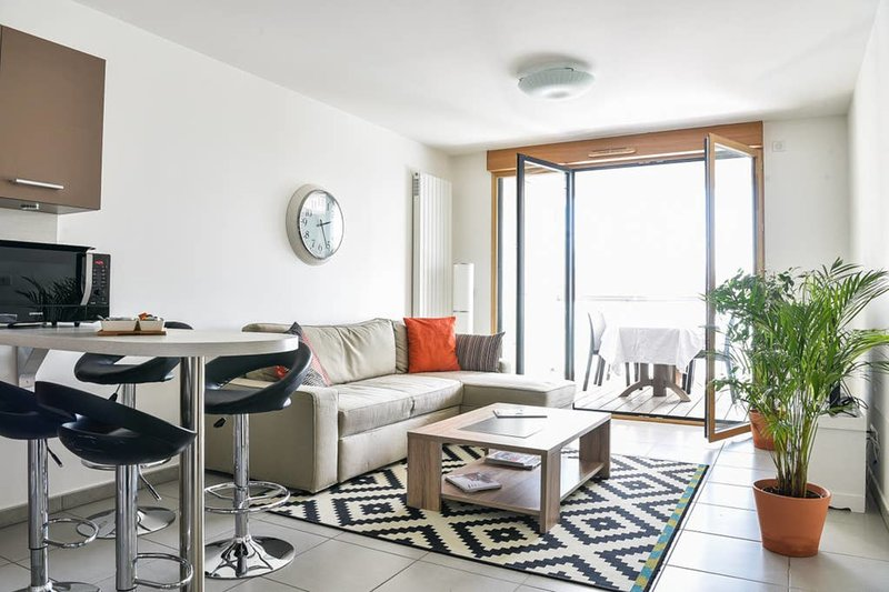 Appartement l'Opale - T2 48m² avec parking à 300m du Lac d'Annecy, location de vacances à Argonay