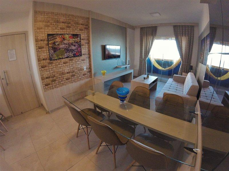 Apartamento Luxo com vista mar , muito aconchegante !!, aluguéis de temporada em Fortaleza