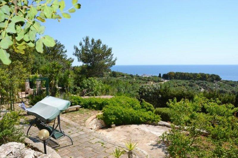 Villa Azzurra Vista Mare / Zona Parco Otranto-Leuca, alquiler vacacional en Marina di Novaglie