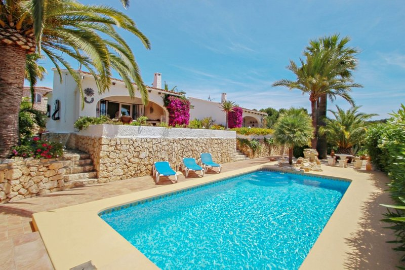 Balia - sea view holiday home with private pool in Benissa, vacation rental in Benissa