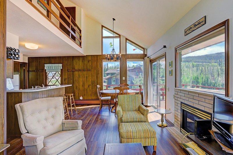 Newly updated hardwood flooring