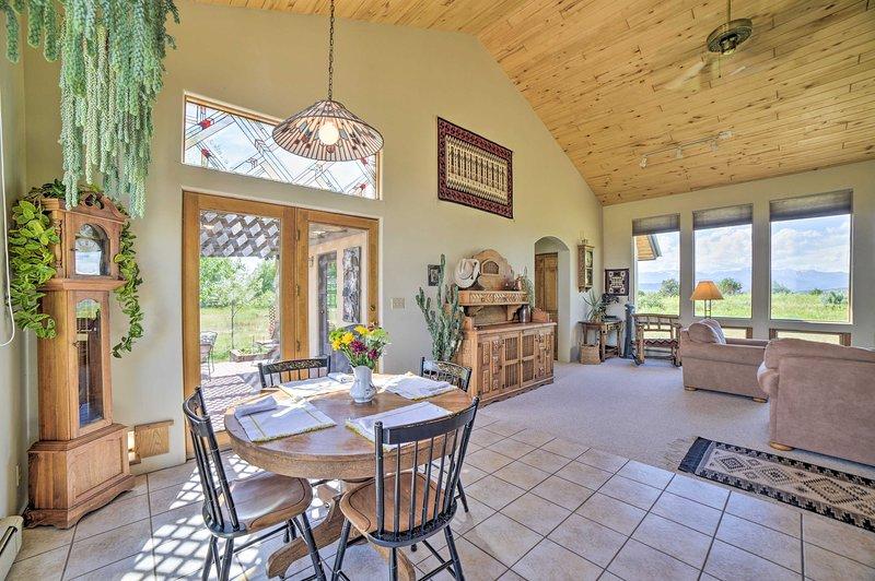 Adventure awaits you at 'Casa de Mesa,' a serene Durango vacation rental home!