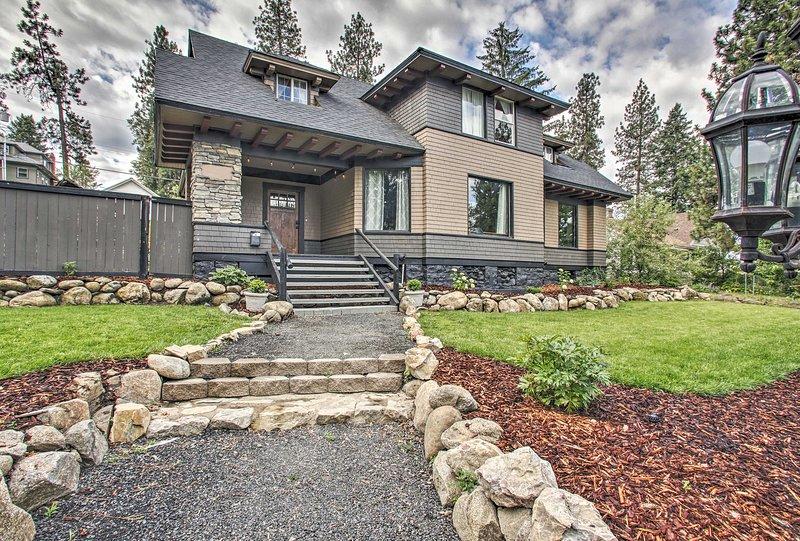 ¡Encuentre un alquiler de vacaciones único en esta propiedad de Spokane!
