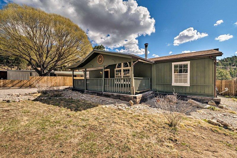 Cette charmante maison à Ruidoso, au Nouveau-Mexique, vous appelle!