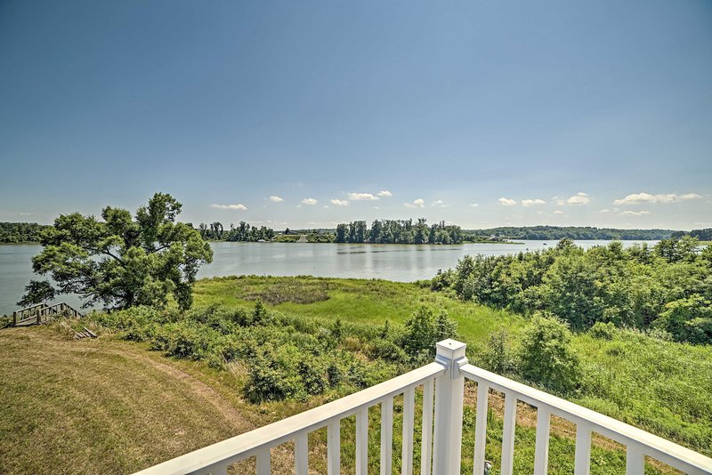 The riverfront home is quintessentially Vermont!