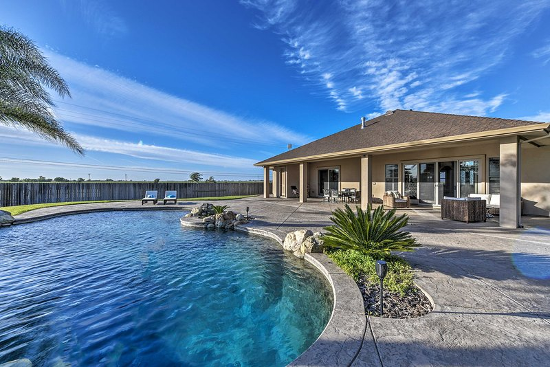 This 2,867 square-foot home in Elk Grove offers an ideal outdoor oasis.