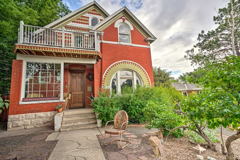 Explore Colorado Springs from this 2BR, 1BA vacation rental home which sleeps 4.