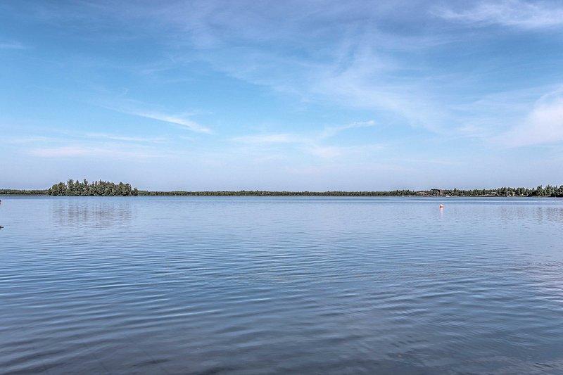 Year-round Big Lake recreation awaits!