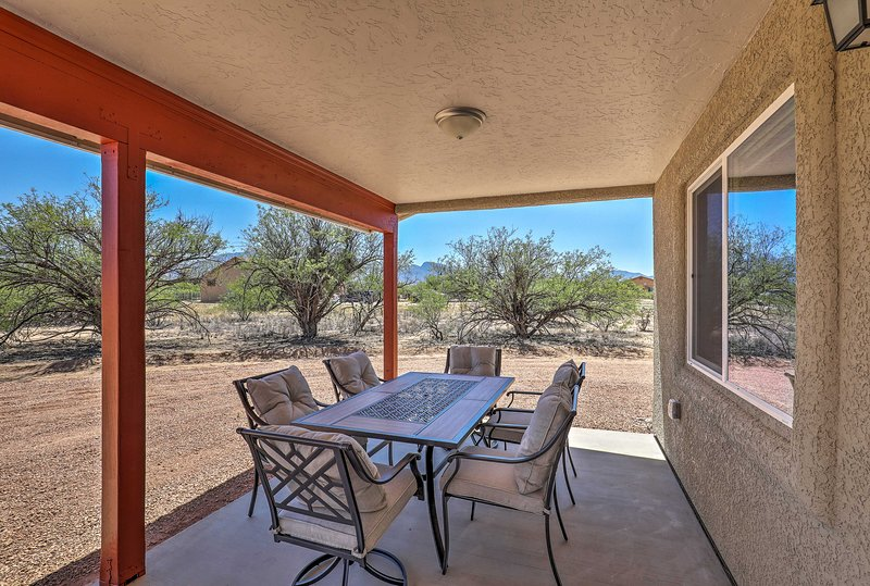 Escape to Sierra Vista, Arizona and stay at this 1-bed, 1-bath vacation rental.