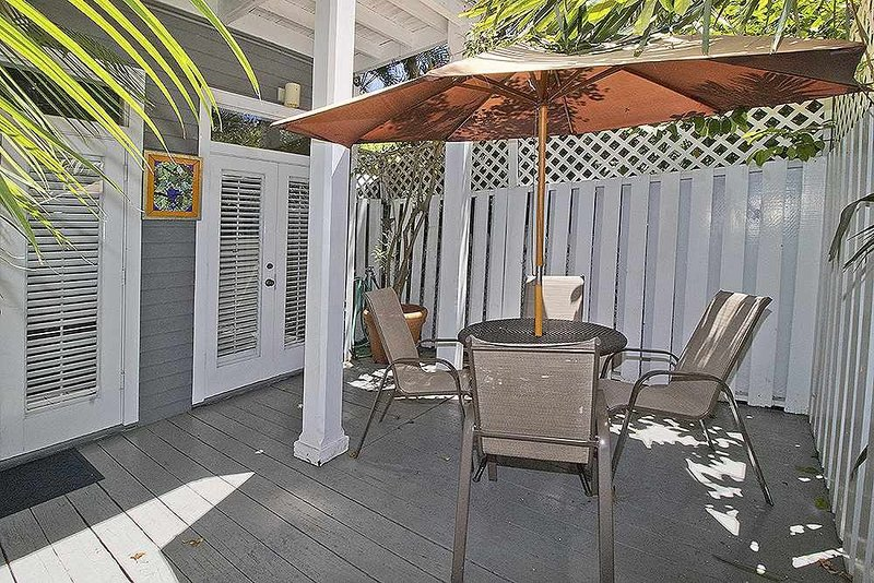 Soak up the sunshine in your private courtyard!