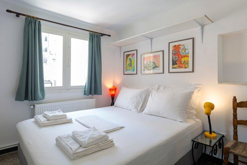 Grand lit double pouvant être aménagé en 2 lits simples