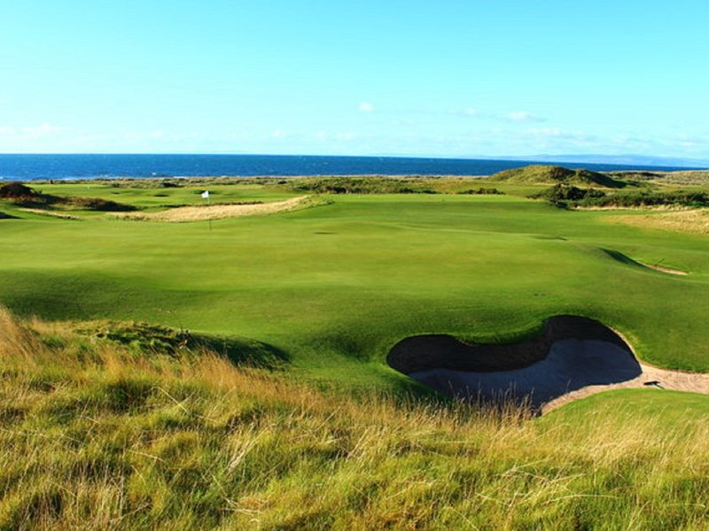 Golf di classe mondiale al campo da golf Turnberry