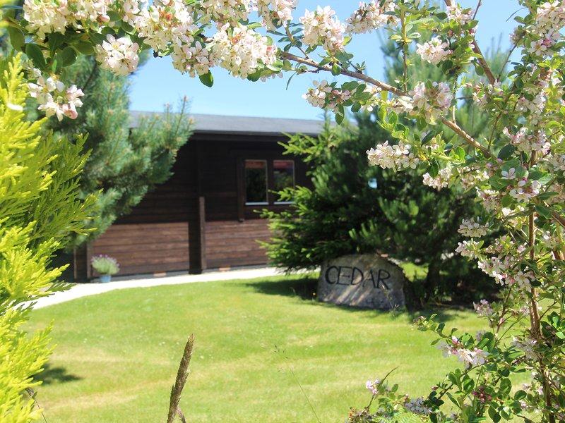 CEDAR LODGE, open plan, veranda, countryside, in Lanivet, vacation rental in Lanivet