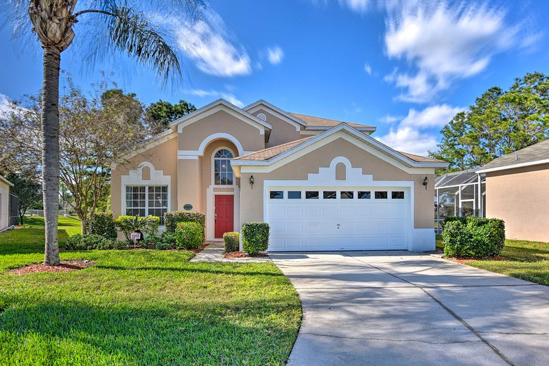 Escape to Kissimmee at this 5-bedroom, 3.5-bath vacation rental home!