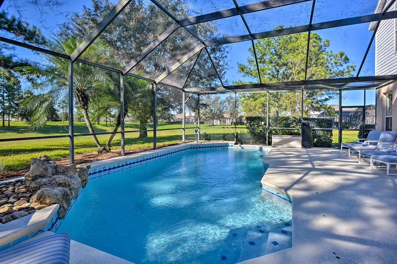 This Florida home is minutes from Walt Disney World Resort!