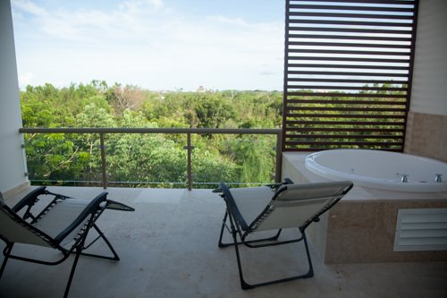 Two bedroom penthouse B7, aluguéis de temporada em Akumal