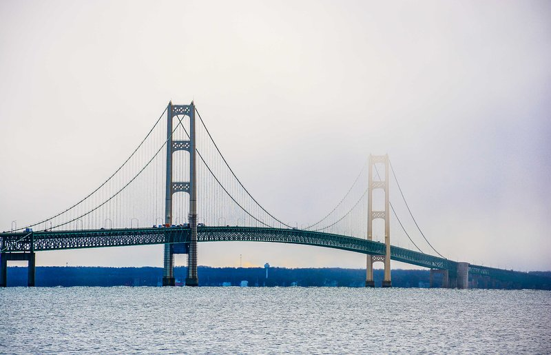 Be sure to head up to Mackinaw!