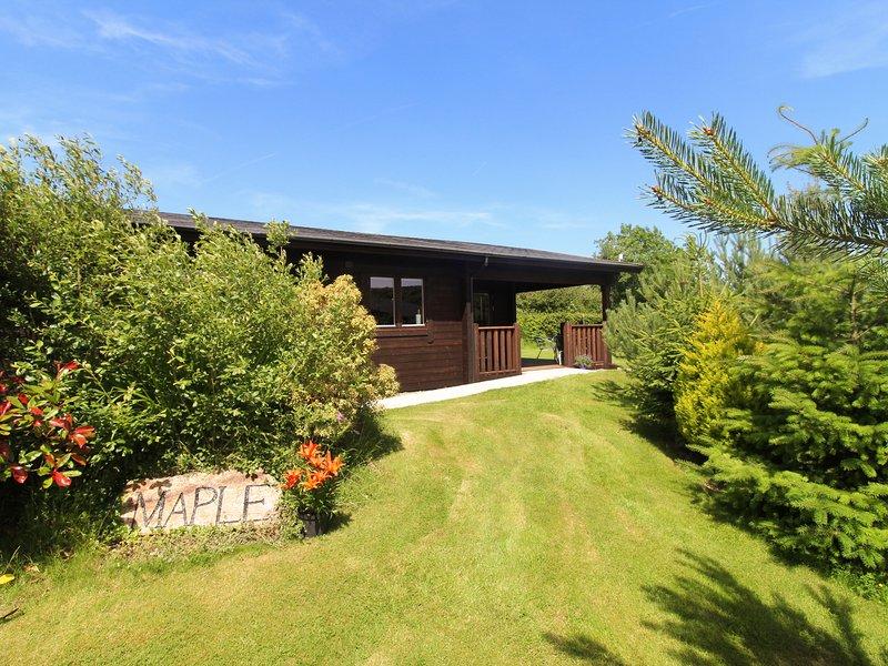 MAPLE LODGE, open plan, all ground floor, touring base, in Lanivet, vacation rental in Lanivet
