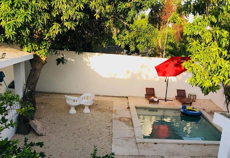 Estadía con estilo merida la casa de las flores, vacation rental in Chablekal